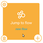 Jump to flow
