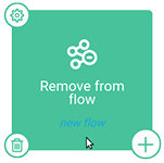 Remove from flow